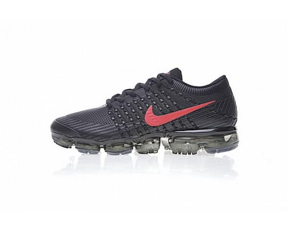 Nike Air Vapormax Flyknit Herren 849558-010 Schwarz/Rot Schuhe