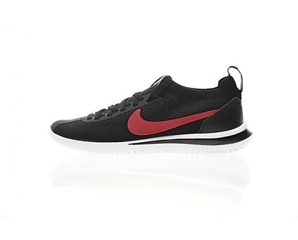 Nike Cortez Flyknit Schuhe Schwarz/Rot/Weiß Aa2029-102 Unisex