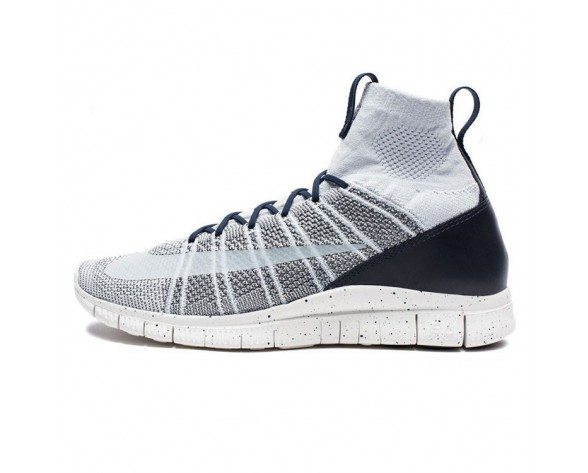 Herren 805554-001 Pure Platinum Schuhe Nike Free Flyknit Mercurial Sp