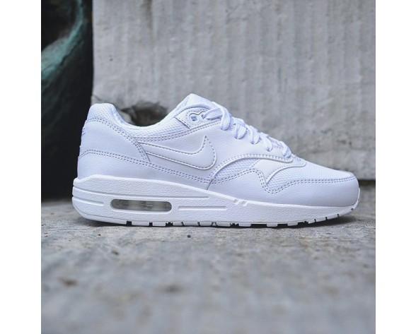 555766-119 Unisex Weiß Nike Air Max 1 Gs Schuhe