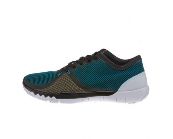 Schwarz Olive Herren 749361-032 Schuhe Nike Free Trainer 3.0 V4