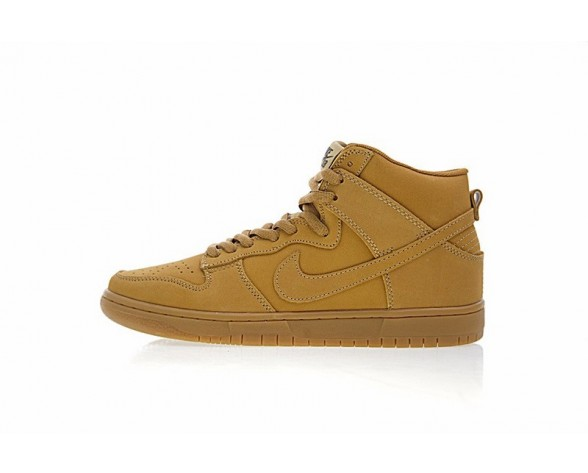 886070-200 Schuhe Wheat Gelb Unisex Nike Sb Dunk High Premium