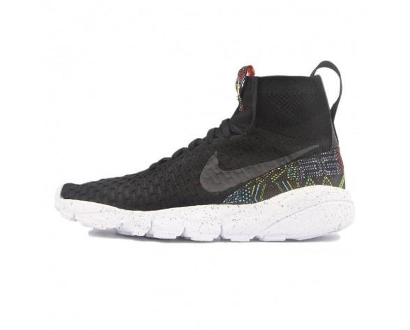 Schuhe Nike Air Footscape Magista Flyknit & Bhm Herren Schwarz 824419-001