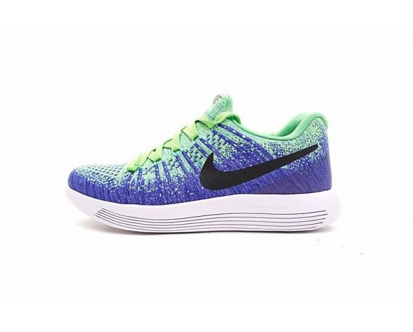 Nike Lunarepic Low Flyknit 2 Herren 869990-301 Schuhe Electric Blau Grün Schwarz
