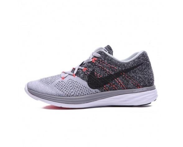 Schuhe Nike Flyknit Lunar 3 Damen Licht Grau/Rosa