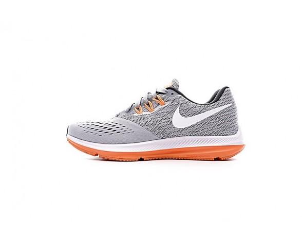 898485-003 Schuhe Licht Grau/Orange Nike Zoom Winflo 5 Unisex