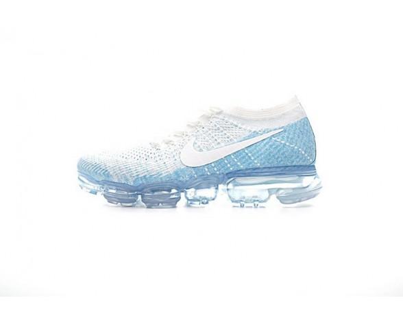 Nike Air Vapormax Flyknit Schuhe Weiß/Sky Blau 849560-194 Herren