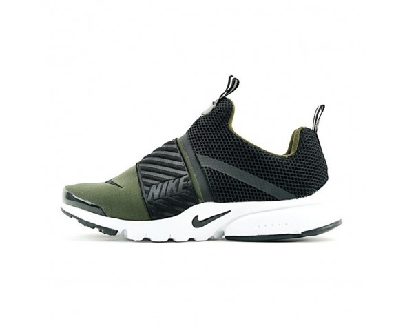 Army Grün/Schwarz/Weiß Nike Air Presto Extreme Slip-On 829553-006 Herren Schuhe