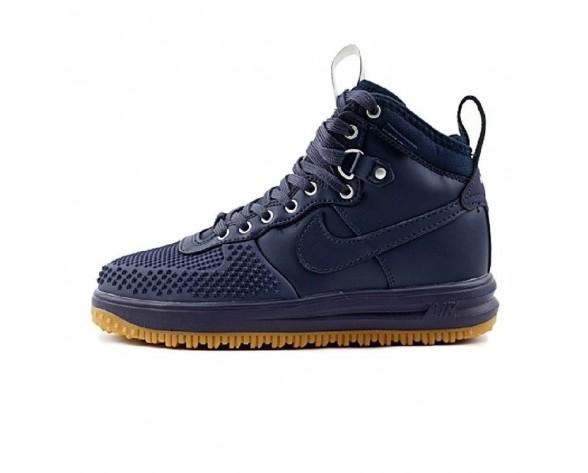 Schuhe Herren Marine Blau/Braun 805899-400 Nike Lunar Force 1 Duckboot