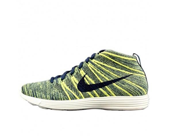 Gelb/Rainbow 554969-447 Schuhe Herren Nike Lunar Flyknit Chukka Mandarin Duck
