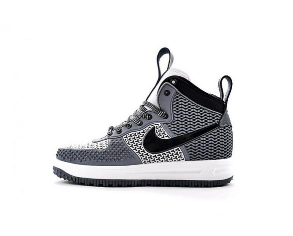 Herren Nike Lunar Force 1 Duckboot Grau/Schwarz/Weiß 805899-070 Schuhe