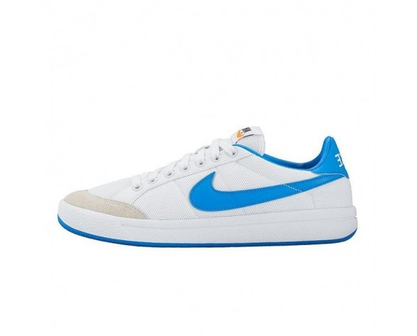 Schuhe Damen 833517-141 Weiß/Photo Blau Nike Meadow Textile