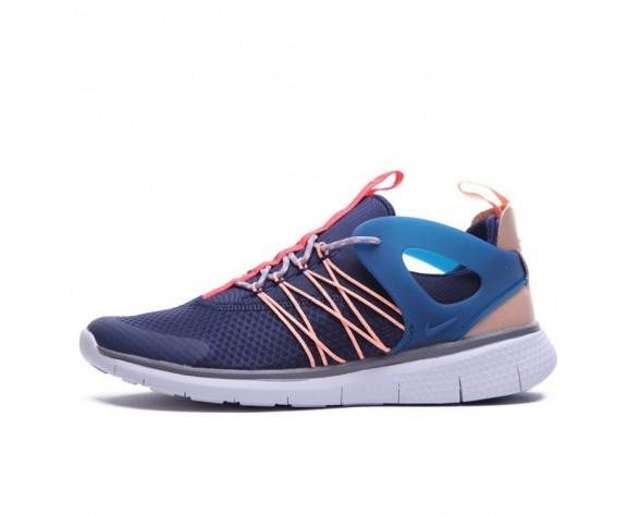Herren Tief Blau/Rosa Schuhe Nike Free Viritous