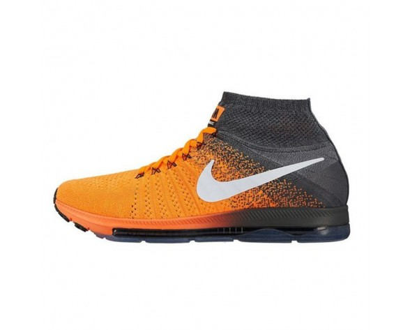 Grau/Orange Nike Air Zoom All Out Flyknit 844134-812 Schuhe Herren