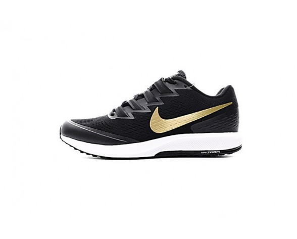 Herren 880554-007 Schuhe Nike Air Zoom Speed Rival 6 Vi Schwarz Gold/Weiß