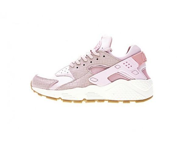 Damen Nike Air Huarache Crocodile Rosa 683818-601 Schuhe