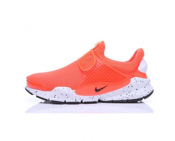 Unisex Schuhe Orange/Graffiti Nike Sock Dart  819686-701