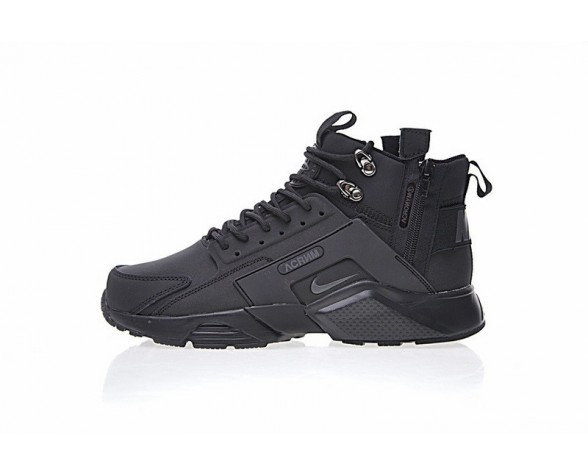"All Schwarz 856787-009 Herren Schuhe <span class=""__cf_email__"" data-cfemail=""59183a2b3637203419"">[email protected]</span> X Nike Air Huarache City Mid Lea"