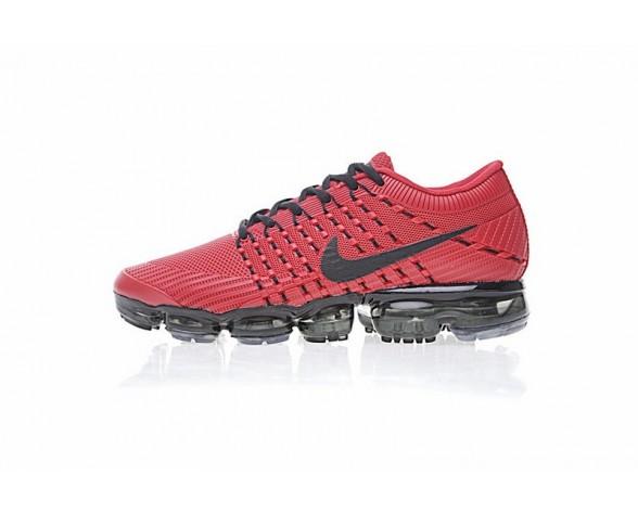 Nike Air Vapormax Flyknit Schuhe Rot/Schwarz Herren 849558-601