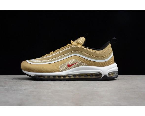 Unisex Nike Air Max 97 Ul '17 Champagne Gold Rot 918356-700 Schuhe