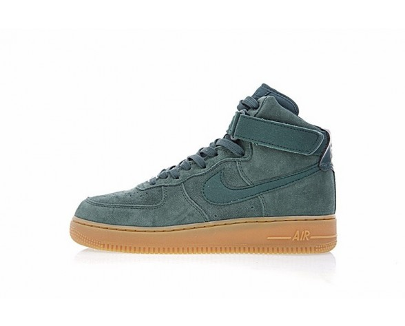 Herren Grün Gum Nike Air Force 1 High '07 Lv8 Suede Aa1118-300 Schuhe