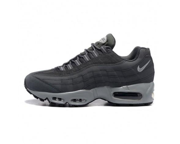Herren Schuhe 609048-088 Wolf Grau Nike Air Max 95