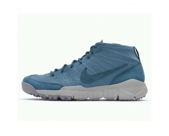 652961-330 Nike Flyknit Trainer Chukka Sfb Herren Schuhe Nacht Factor/Mine Grau