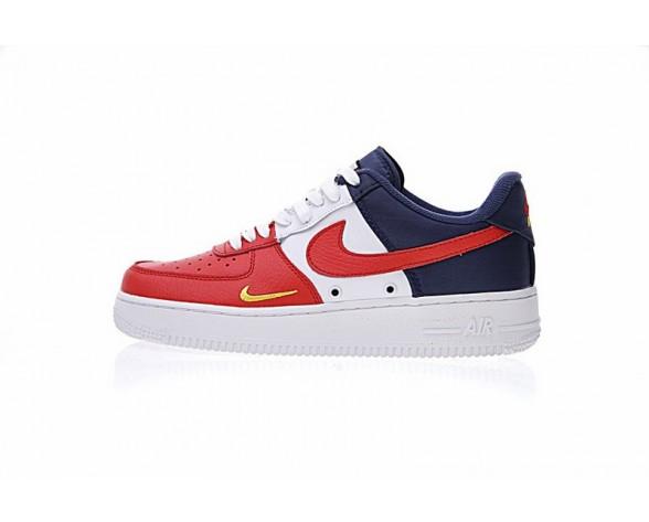 Schuhe Independence Day Rot Blau/Weiß 823511-601 Unisex Nike Air Force 1 Low Mini Swoosh