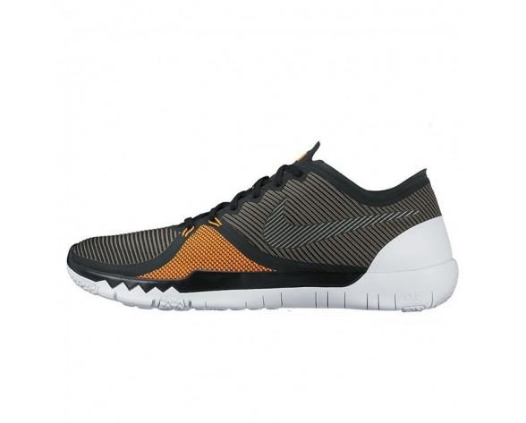 Schwarz/Schwarz-Tmbld Gry-Ttl Orng Herren 749361-008 Nike Free Trainer 3.0 V4 Schuhe