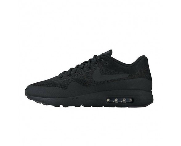 Schuhe 856958-001 Triple Schwarz Unisex  Nike Air Max 1 Ultra Flyknit