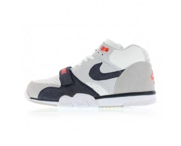 317554-103 Schuhe Herren Denim & Corduroy Nike Air Trainer 1 Mid