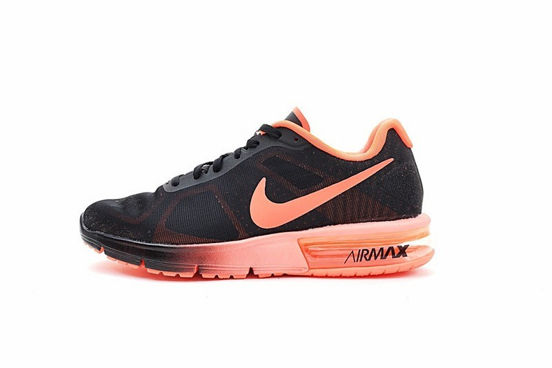 new style 077e3 5714d SchwarzOrange Rot Schuhe Nike Air Max Sequent Unisex 719912-012