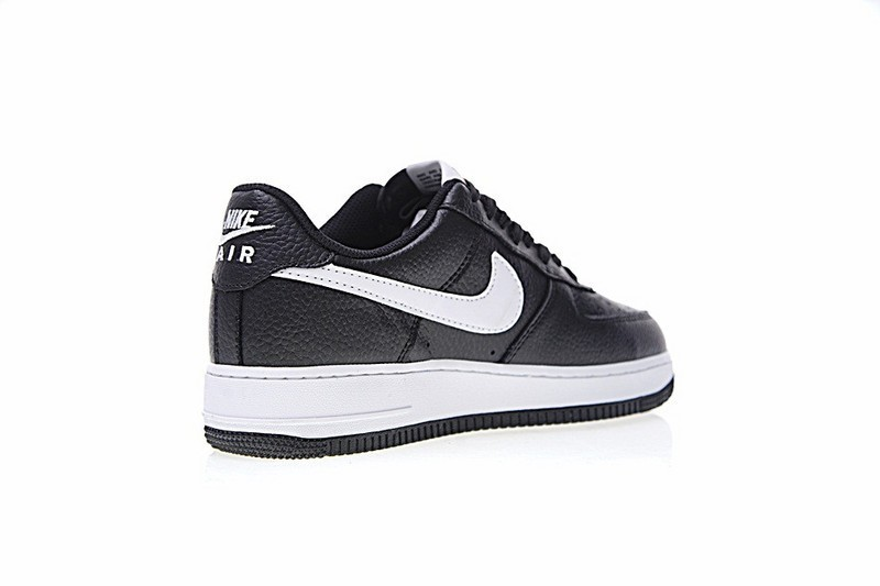 pretty nice 12005 15f1d Nike Air Force 1 Low Mini Swoosh 820266-021 Herren Schwarz Weiß Schuhe.  Regulaerer Preis  139,95 €