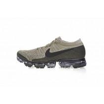 849558-201 Nike Air Vapormax Flyknit Beige/Schwarz Schuhe Unisex