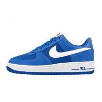 820266-402 Schuhe  Nike Air Force 1 Low Star Blau/Weiß Herren