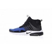 Nike Air Presto Mid Utility Schuhe Königlich Blau/Schwarz/Weiß Herren Aa0868-005