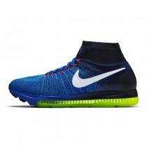 844134-401 Schuhe Nike Air Zoom All Out Flyknit Herren Königlich Blau/Schwarz