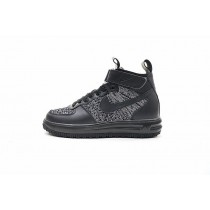Herren Schuhe 860558-001 Nike Lunar Force 1 Flyknit Workboot Grau/Schwarz