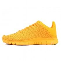 Nike Free Inneva Woven Tech Spet Sunset Glow Herren Orange 705797-888 Schuhe
