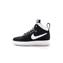 Nike Lunar Force 1 Duckboot Herren 805899-101 Schwarz Weiß Schuhe