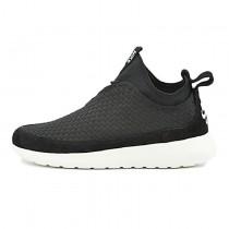 Schwarz Weiß 831508-001 Herren Schuhe Nike Run Woven Mid