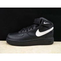 Unisex 315123-043 Nike Air Force 1 High Schwarz/Weiß Schuhe