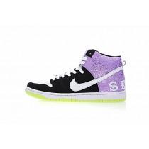 616752-016 Schuhe Bone Lila/Schwarz/Weiß Nike Dunk High Prm Sh Send Help 2 Unisex