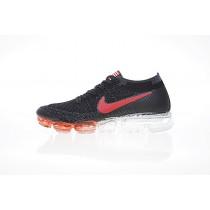 849558-111 Nike Air Vapormax Flyknit Usa Unisex Rot/Schwarz Schuhe