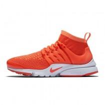 Schuhe Nike Air Presto Flyknit Ultral Total Crimson/Total Crimson/Weiß/Rosa Unisex 835570-800