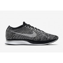 Schuhe Schwarz Weiß Nike Flyknit Racer 2.0 Again 526628-012 Unisex
