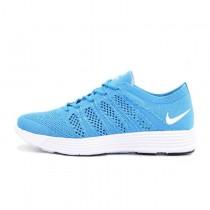 Schuhe Herren Nike Flyknit Lunar Htm Nrg Blau/Golw 535089-440