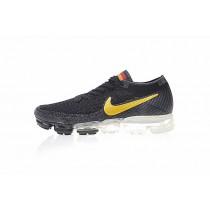 849558-017 Schwarz/Gelb Herren Nike Air Vapormax Flyknit Germany Schuhe
