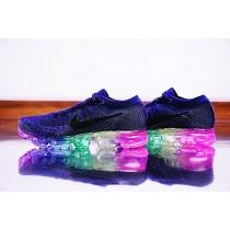 Tief Blau/Rainbow Unisex Schuhe 883274-400 Nike Air Vapormax Flyknit