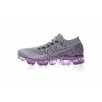 Damen Schuhe Nike Air Vapormax Flyknit Tief Grau/Lila 899472-400